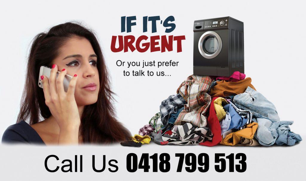 All Fresh Laundry girl on phone